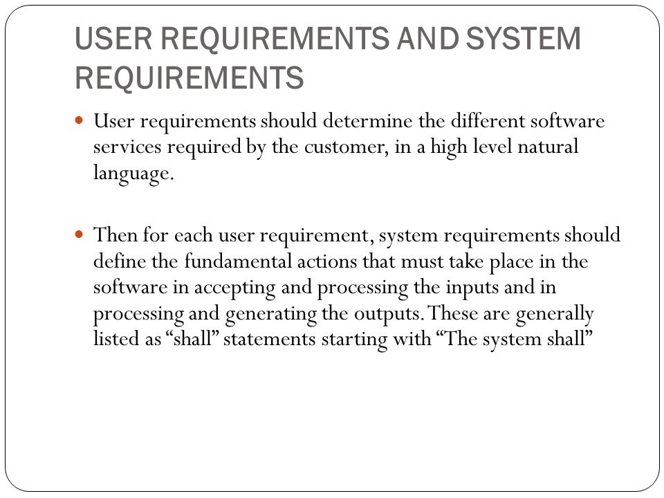 Contents of the srs report software requirements specification 9 user requirements pronofoot35fo Choice Image