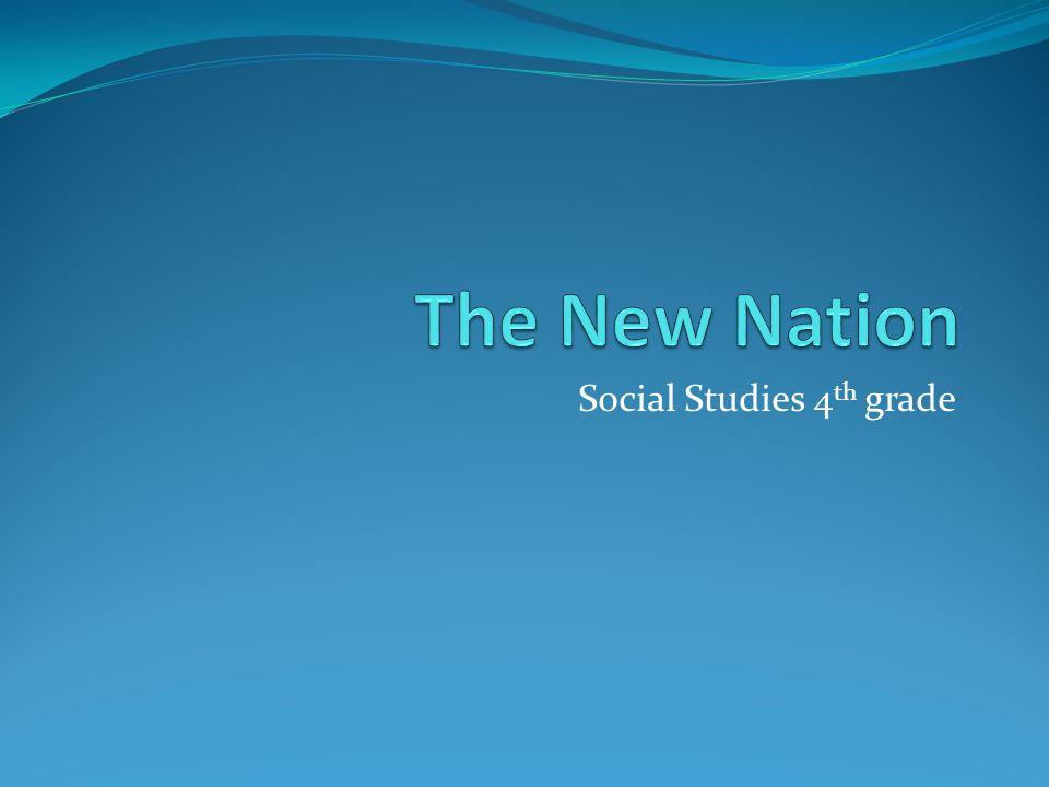 Social Studies 4 th grade. Suggested Vocabulary Words amendment ...
