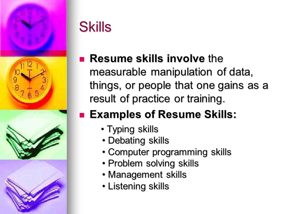 career management objective 6 01 components of a resume ppt