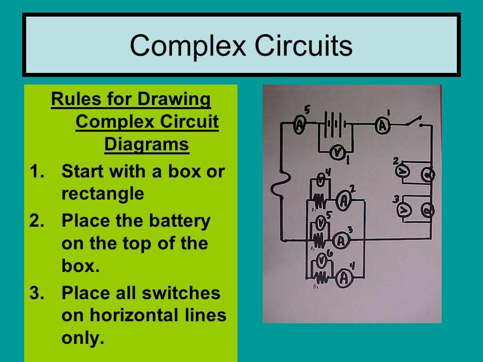 complex circuits notes series circuit parallel circuit complex rh slideplayer com schematic diagram rules Series Circuit Diagram