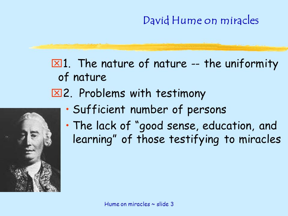 essay on david hume
