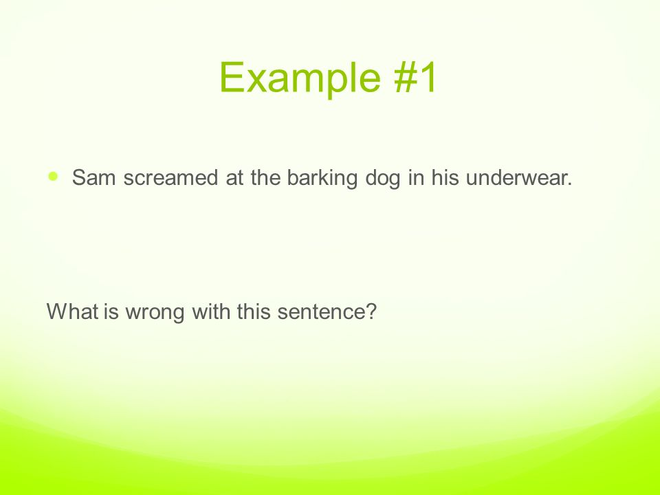 Misplaced Modifiers What is a misplaced modifier A misplaced – Misplaced Modifiers Worksheet