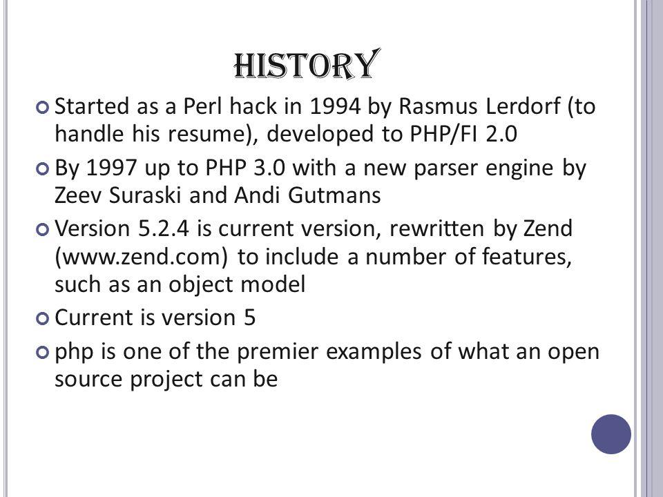 perl version history