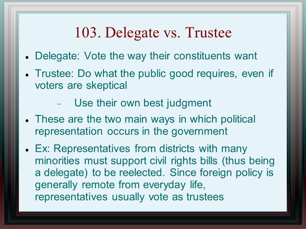 103. Delegate vs.