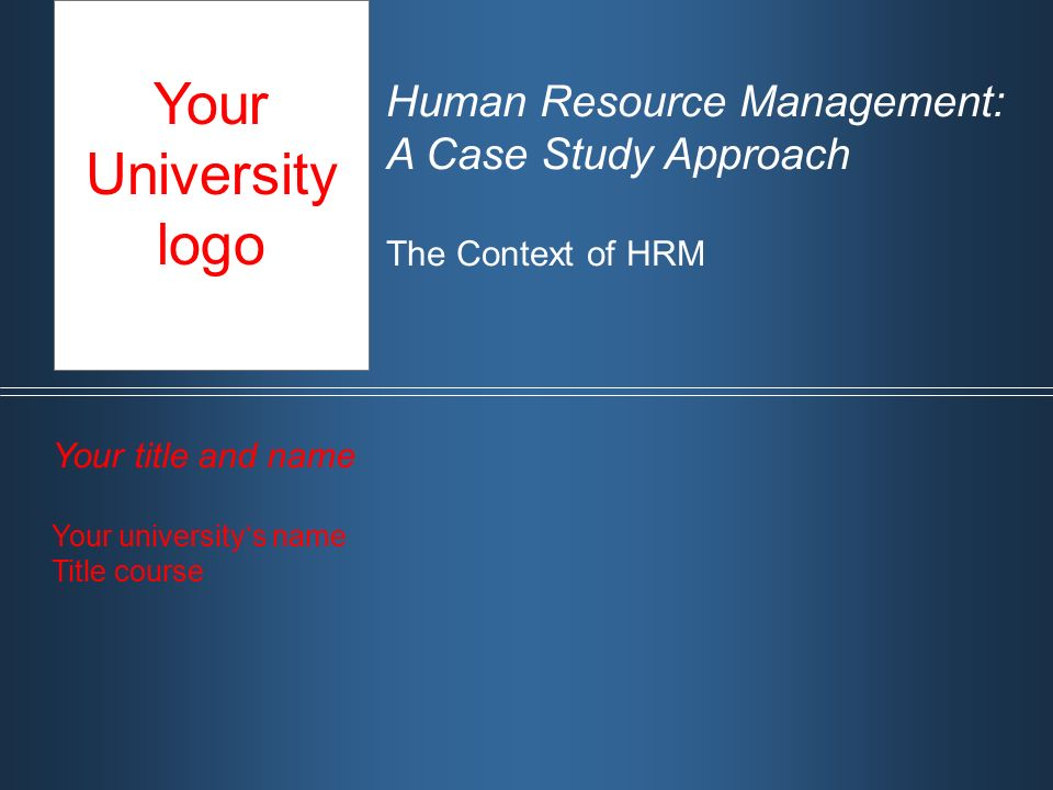 an analysis of coursework hrm The aim of this module is to provide students with an overview of the theory and practice of human resource management this module focuses on a strategic perspective wherein the hrm function supports an organisation's business strategy with appropriate hrm policies and practices.