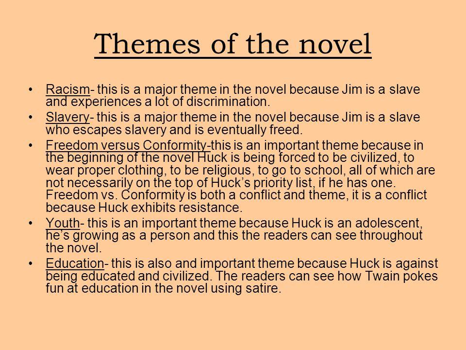 huckleberry finn essays