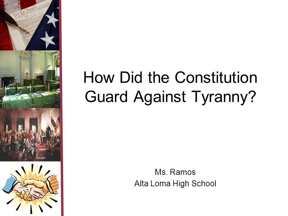 tyranny essay