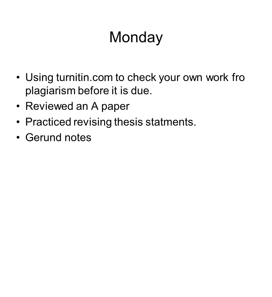 check your paper before turnitin Student guide– turnitin faq's 2 turnitin report is returned you are able to check your referencing and to rewrite how do i upload my paper using turnitin.