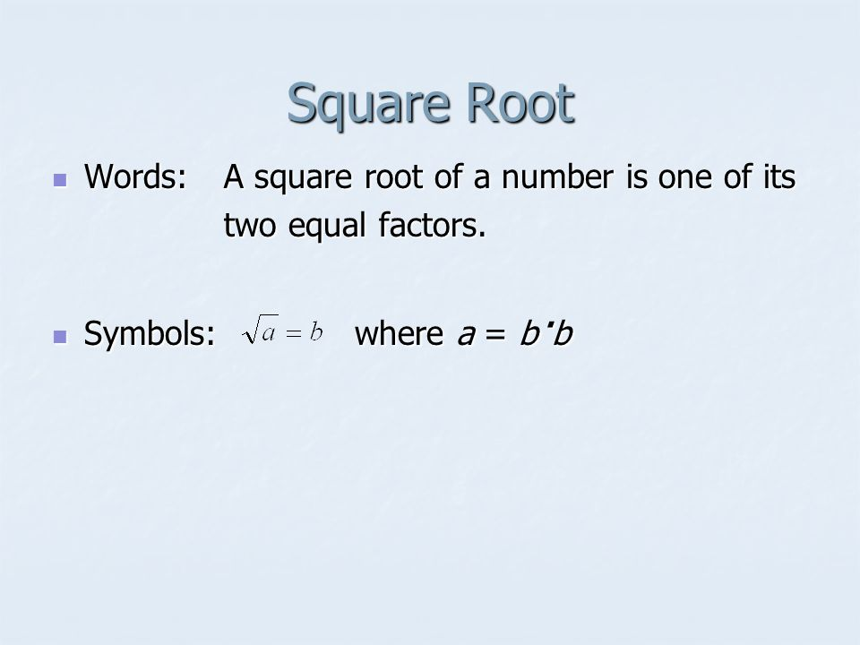 85 Square Roots Squaring A Number What Does It Mean To Square A