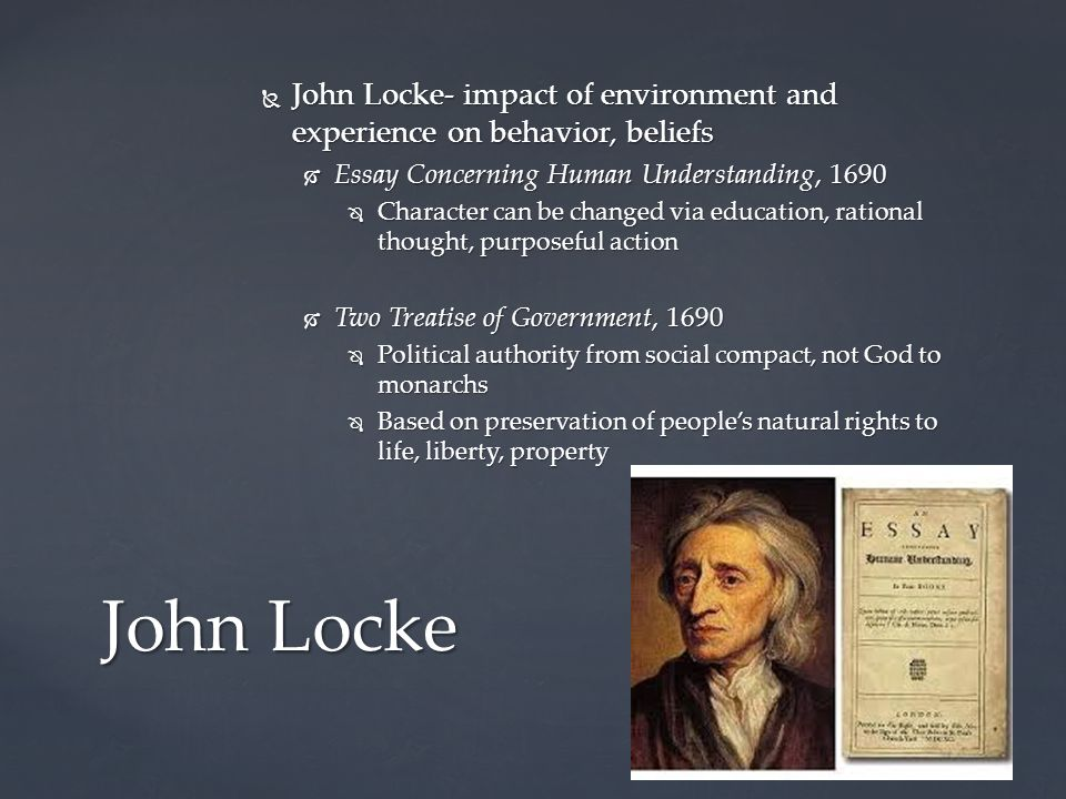a biography of john locke essay