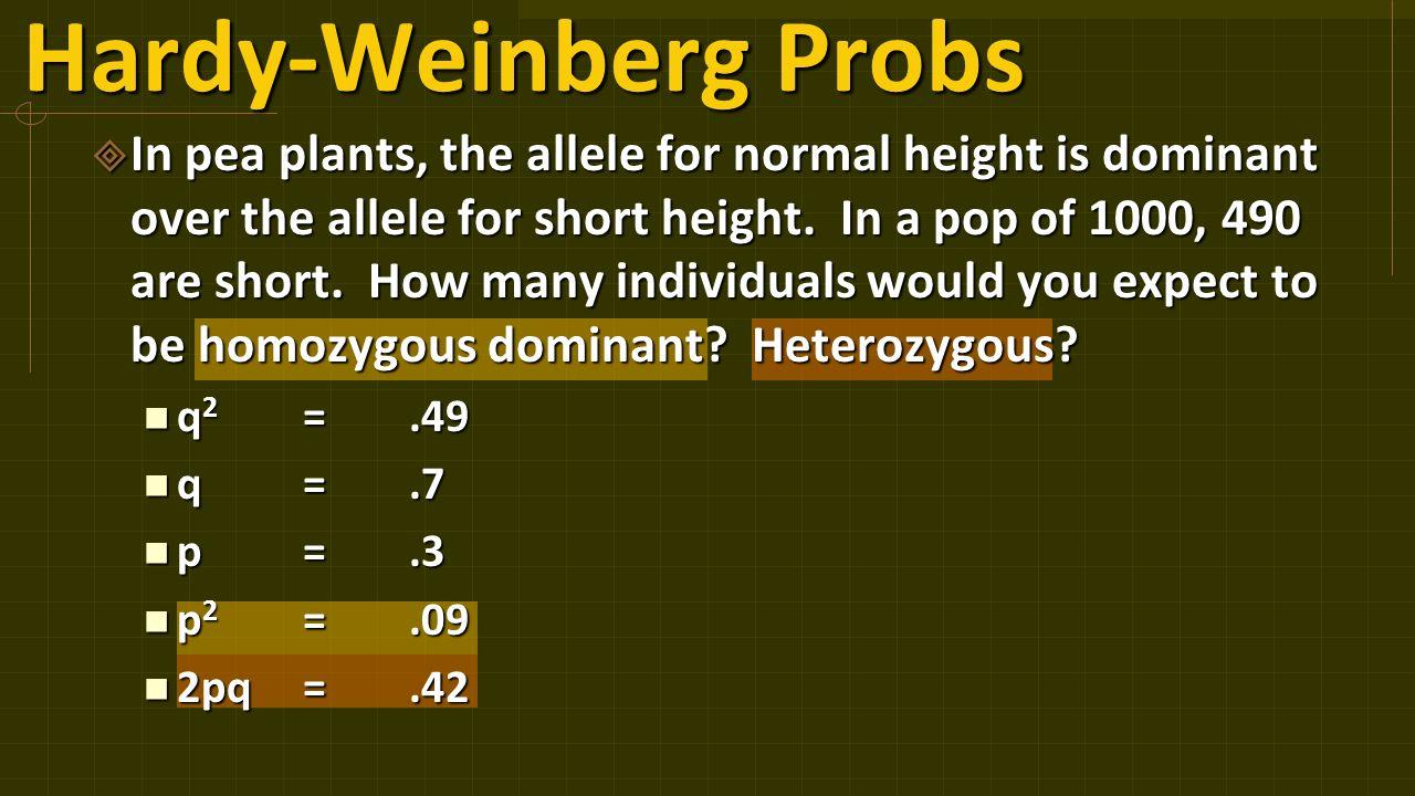 6 Hardy-Weinberg ...