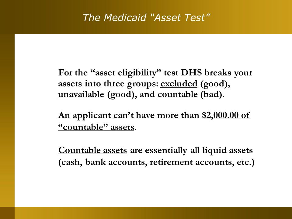 Presented by MEDICAID RULE UPDATE: Payments to Caregivers Cause ...