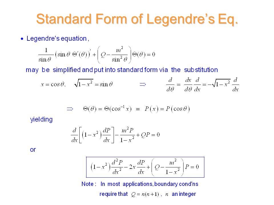 D. R. Wilton ECE Dept. ECE 6382 Second Order Linear Differential ...