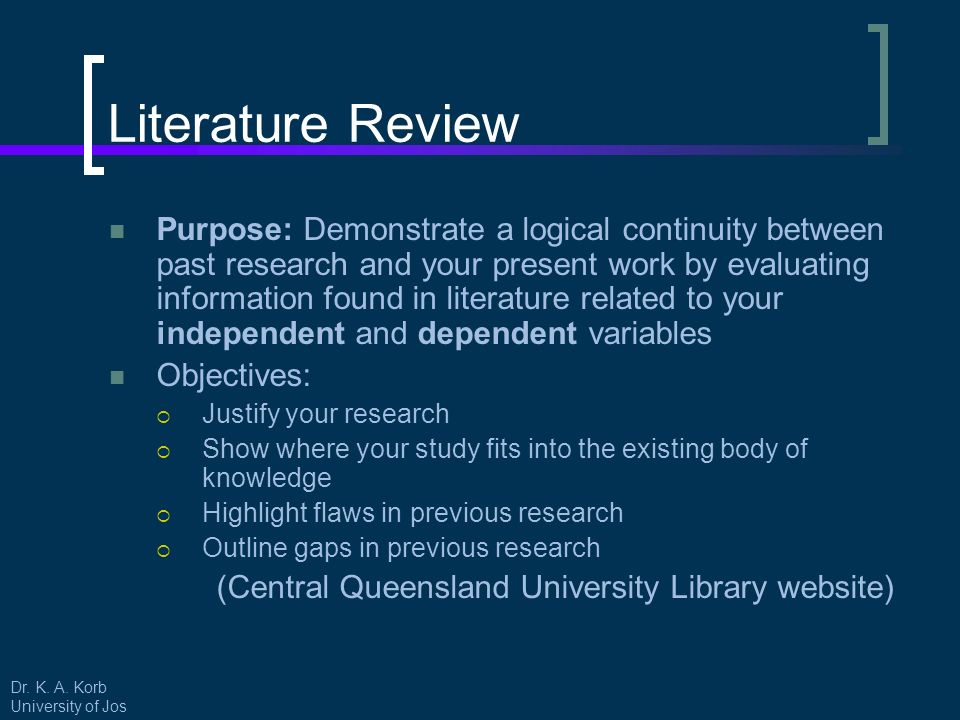 what is the purpose of a literary research paper Unlike most other research papers, a literary research paper generally requires an argumentative style of writing rather than a descriptive style loads of support content would be available to support an opinion, but knowing how to present it is a totally different ball game.