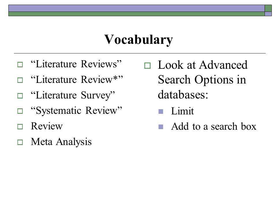 Custom Literature Review Writers Service