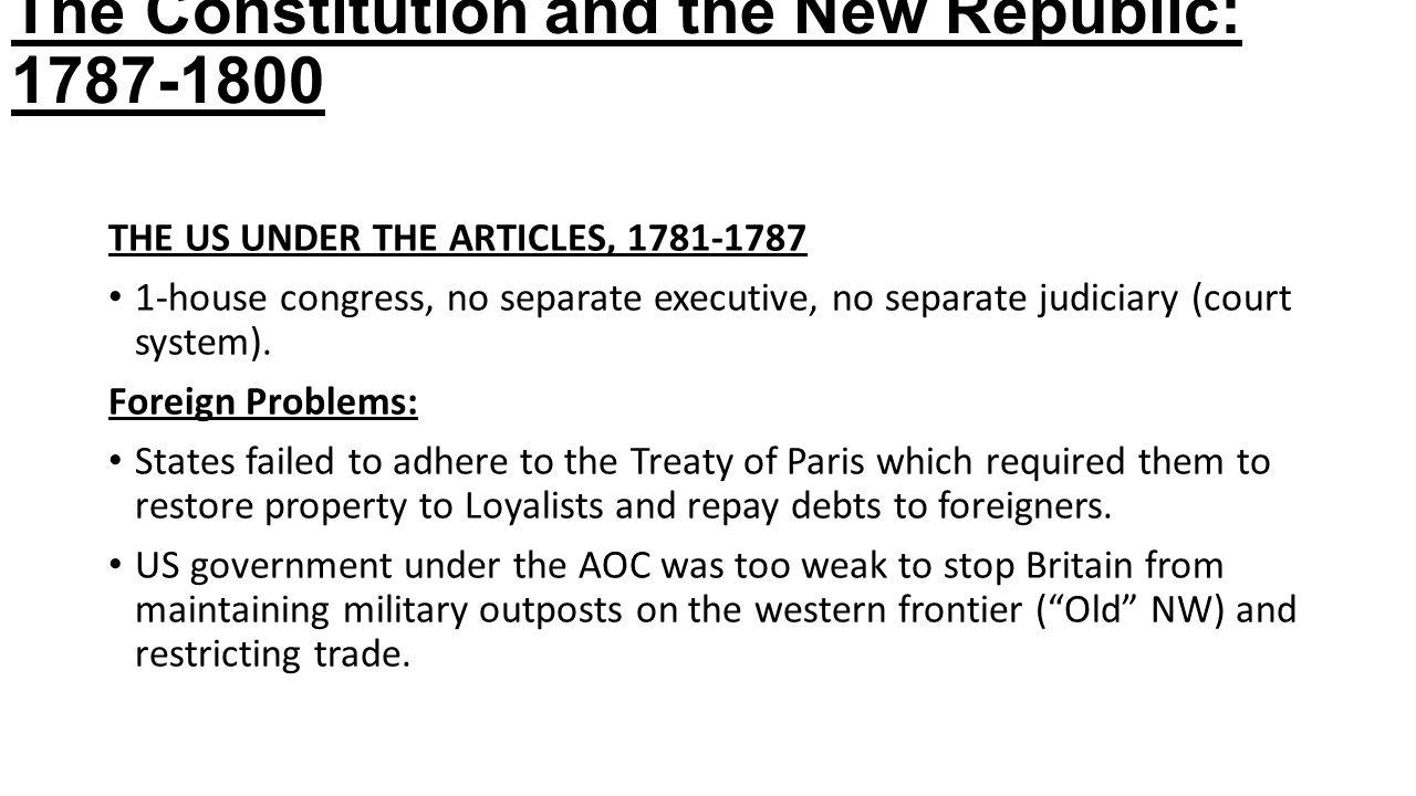 treaty of paris dbq