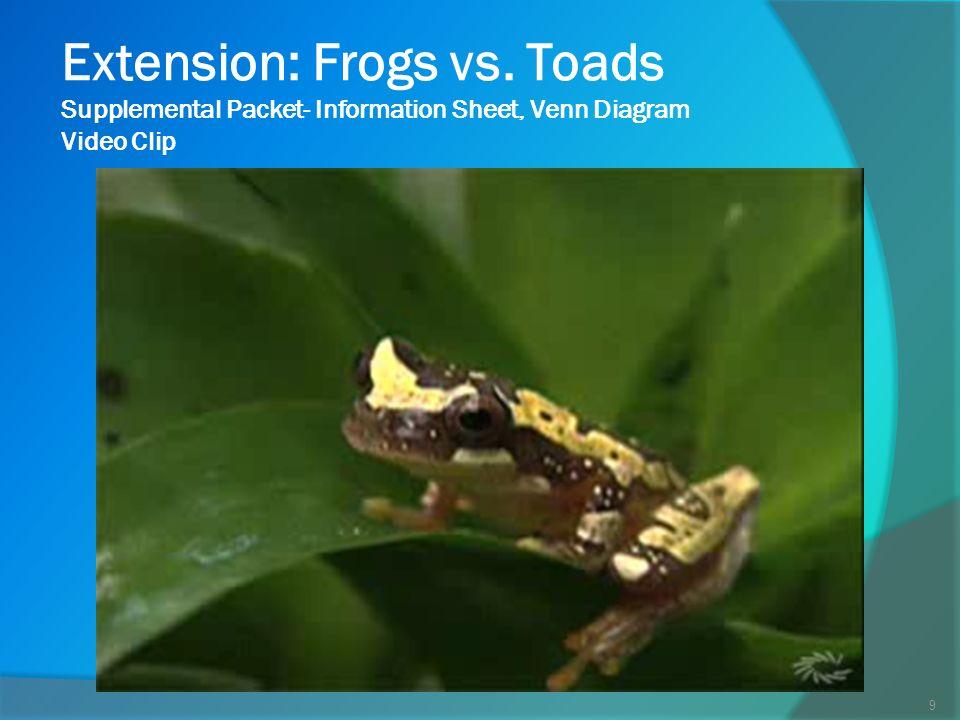 Frog Vs Toad Venn Diagram Acurnamedia