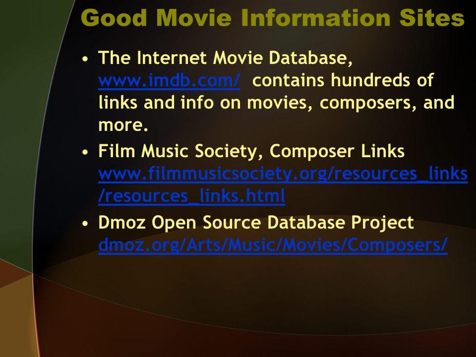 internet movie database imdb