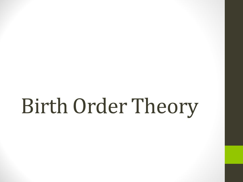 essay on birth order and achievement Access to over 100,000 complete essays and succeed in high achievement the order of birth-adler posited birth order as one of the major.