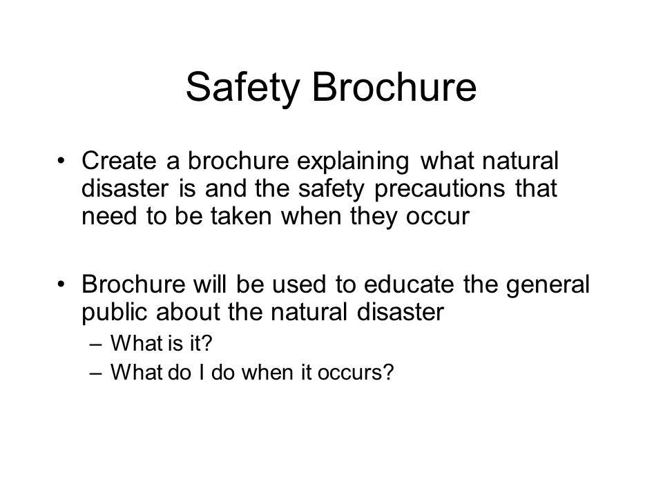 create e brochure