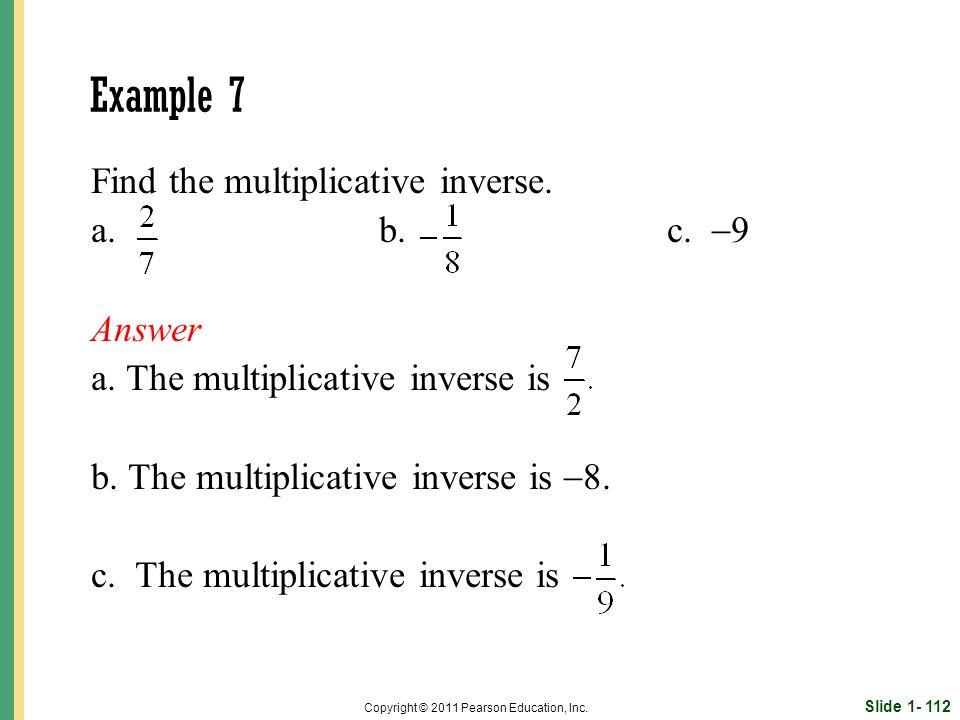 Slide 1- 112 Copyright © 2011 Pearson Education, Inc.