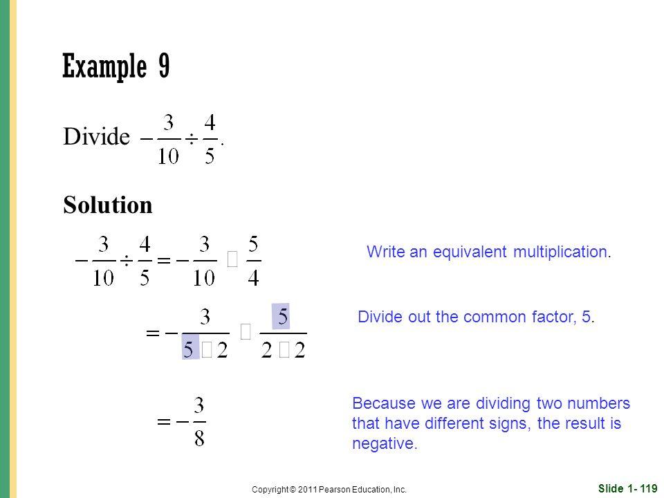 Slide 1- 119 Copyright © 2011 Pearson Education, Inc.