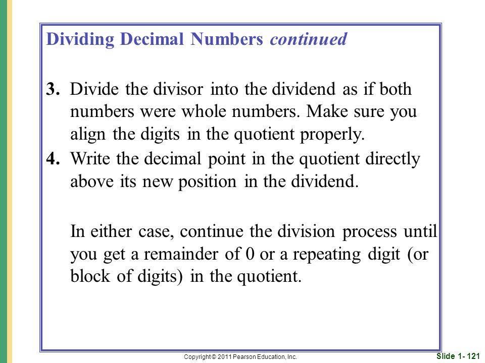 Slide 1- 121 Copyright © 2011 Pearson Education, Inc.