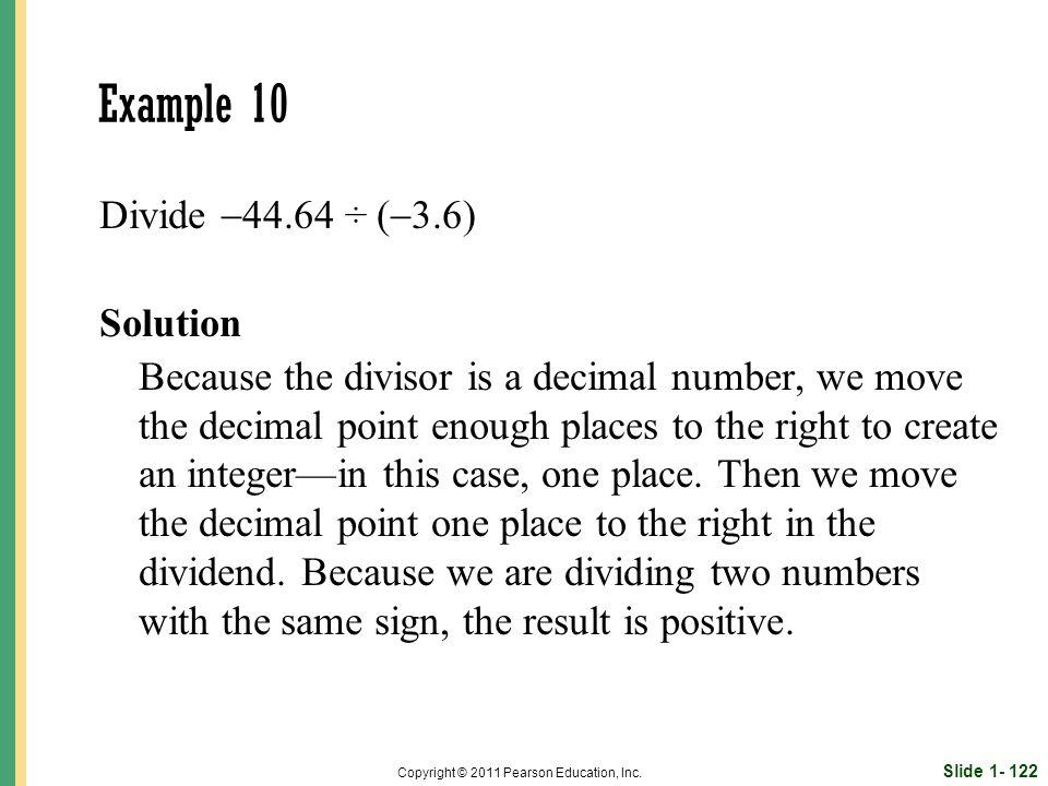 Slide 1- 122 Copyright © 2011 Pearson Education, Inc.
