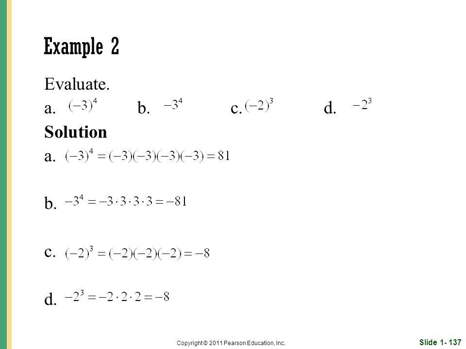 Slide 1- 137 Copyright © 2011 Pearson Education, Inc.
