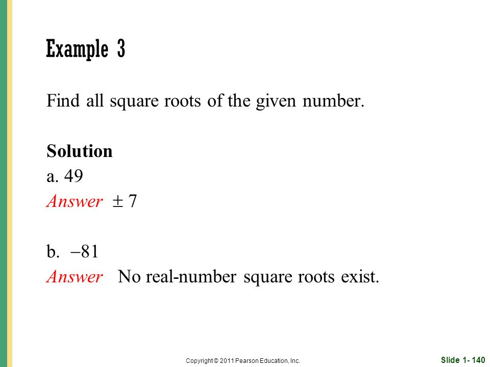 Slide 1- 140 Copyright © 2011 Pearson Education, Inc.