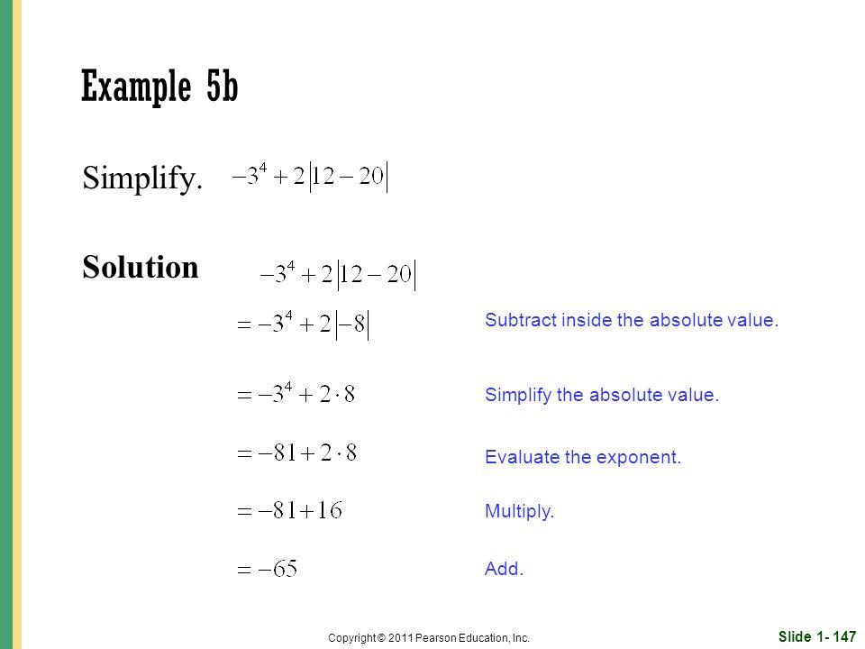 Slide 1- 147 Copyright © 2011 Pearson Education, Inc.
