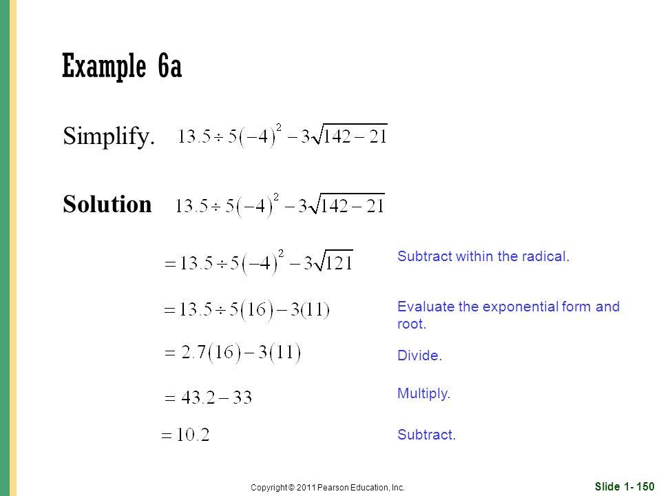 Slide 1- 150 Copyright © 2011 Pearson Education, Inc.