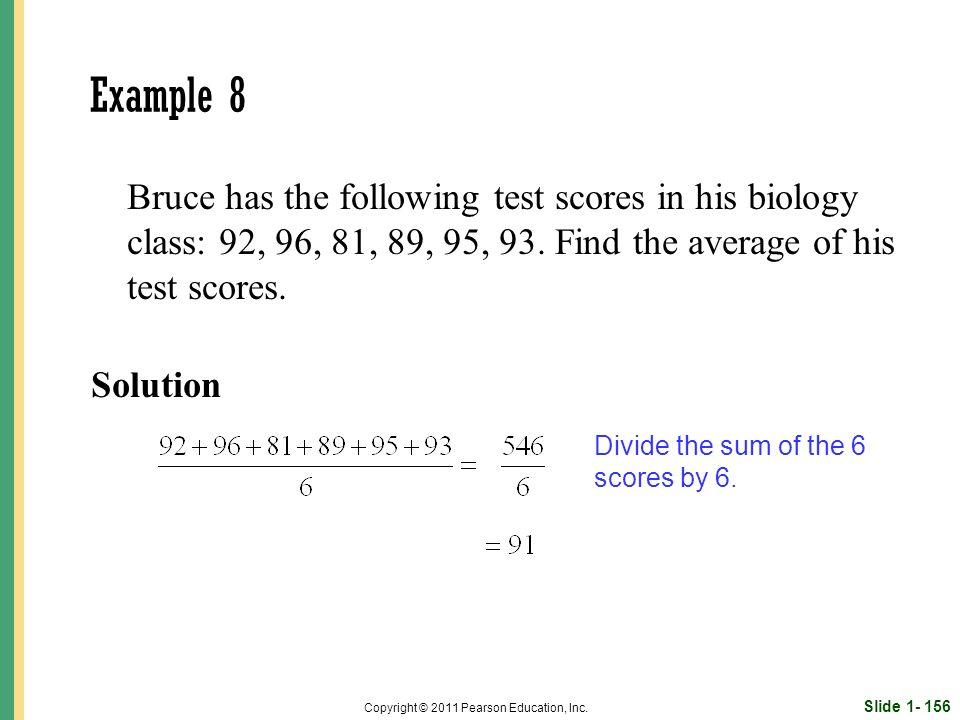 Slide 1- 156 Copyright © 2011 Pearson Education, Inc.