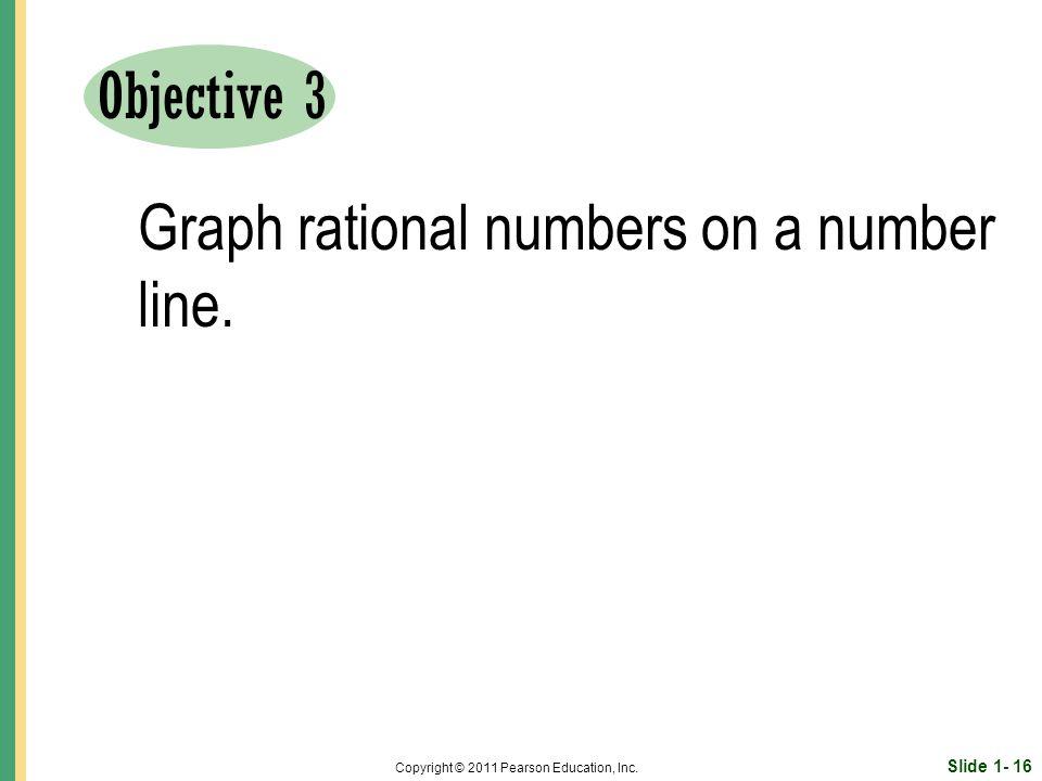 Slide 1- 16 Copyright © 2011 Pearson Education, Inc.