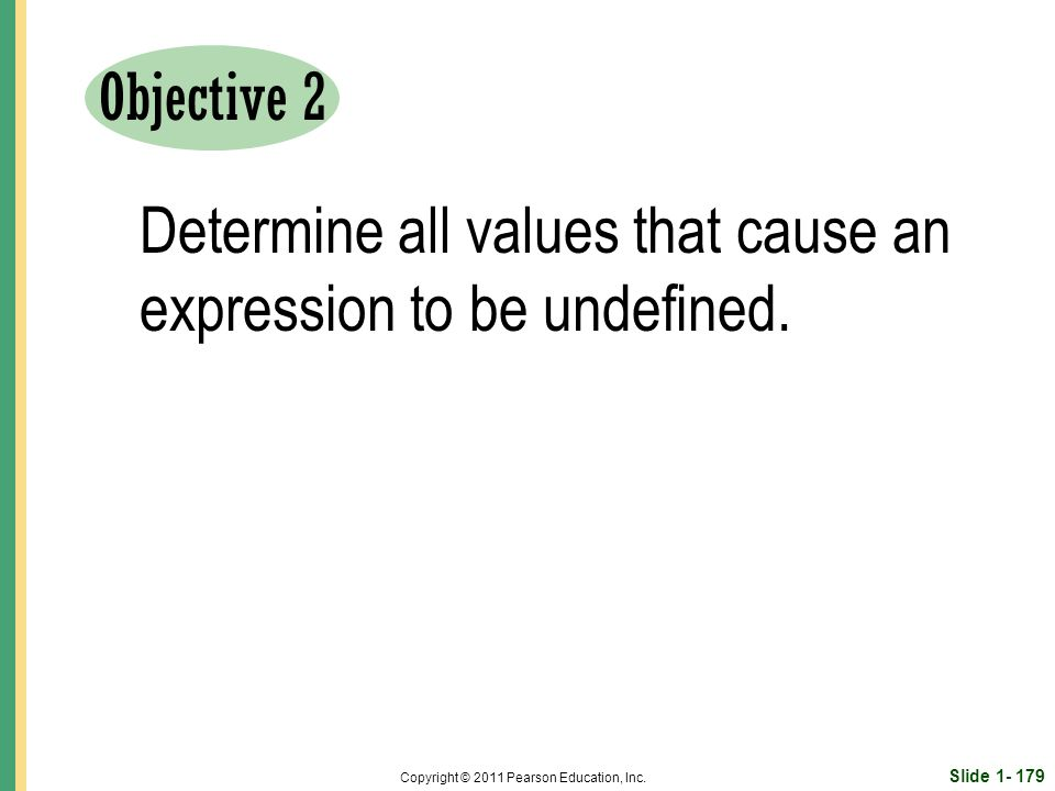 Slide 1- 179 Copyright © 2011 Pearson Education, Inc.