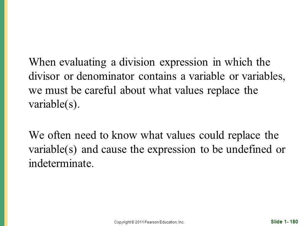 Slide 1- 180 Copyright © 2011 Pearson Education, Inc.