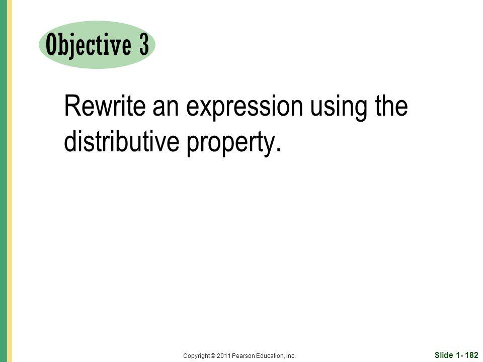 Slide 1- 182 Copyright © 2011 Pearson Education, Inc.