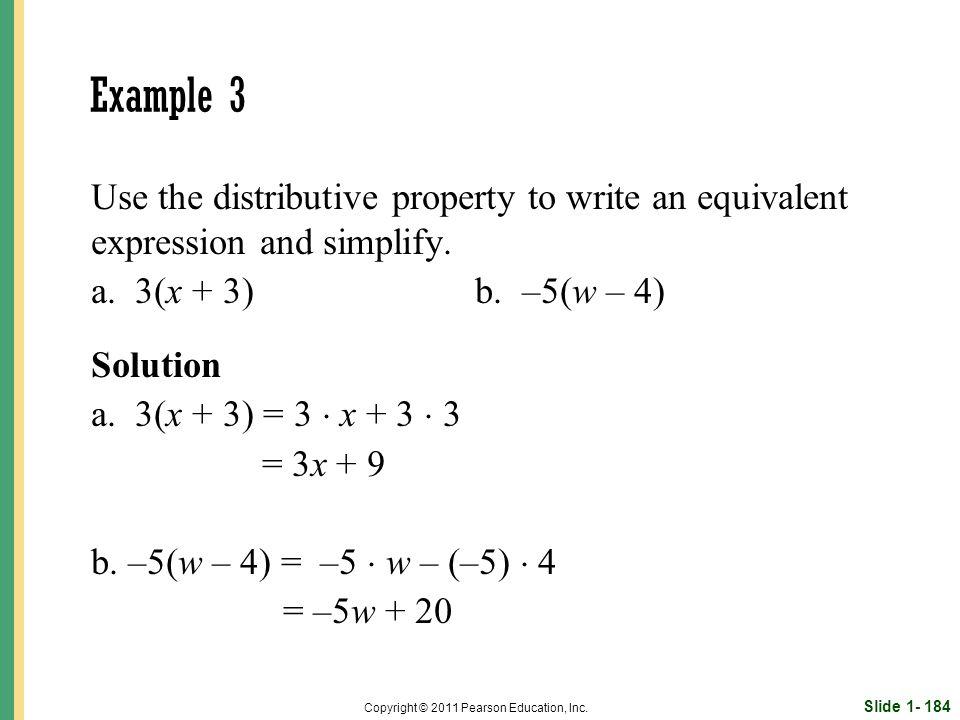 Slide 1- 184 Copyright © 2011 Pearson Education, Inc.