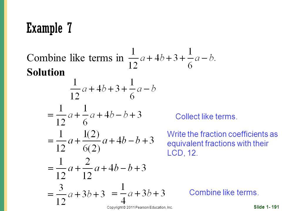 Slide 1- 191 Copyright © 2011 Pearson Education, Inc.