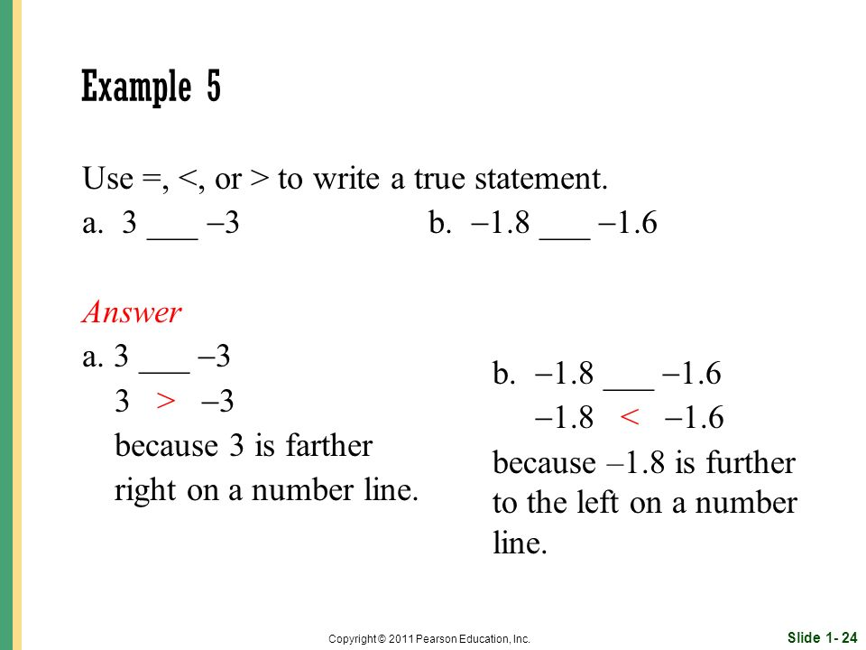 Slide 1- 24 Copyright © 2011 Pearson Education, Inc.