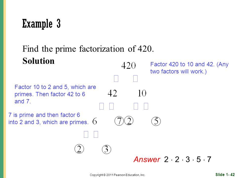 Slide 1- 42 Copyright © 2011 Pearson Education, Inc.