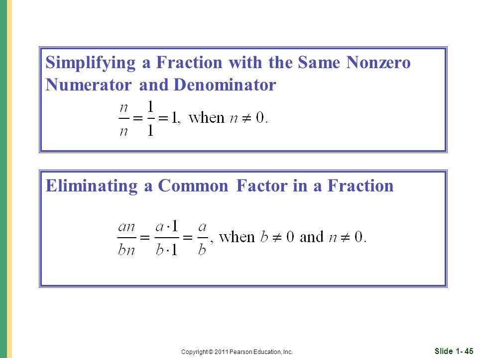Slide 1- 45 Copyright © 2011 Pearson Education, Inc.