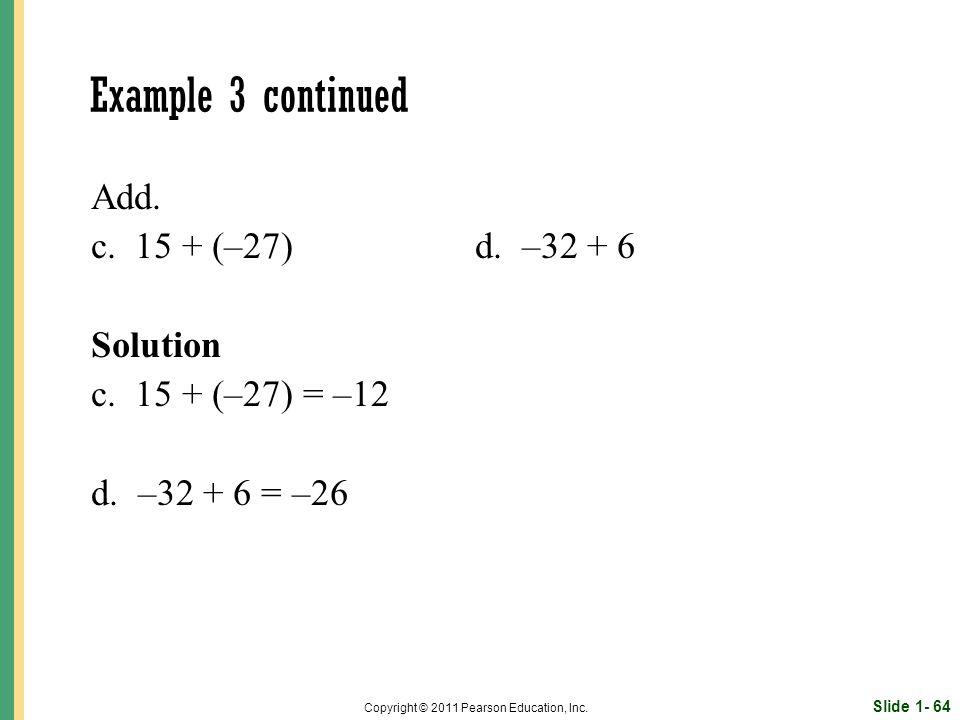 Slide 1- 64 Copyright © 2011 Pearson Education, Inc.