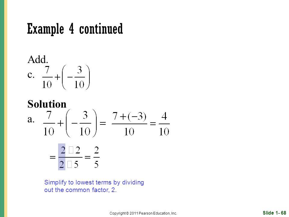 Slide 1- 68 Copyright © 2011 Pearson Education, Inc.