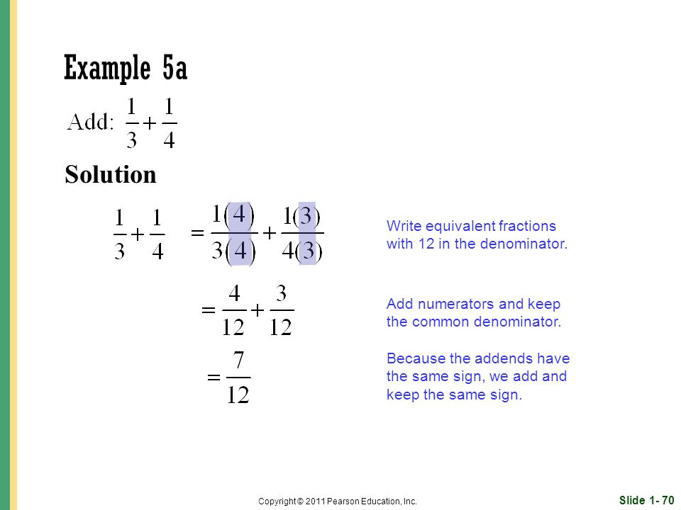 Solution Slide Copyright © 2011 Pearson Education, Inc.