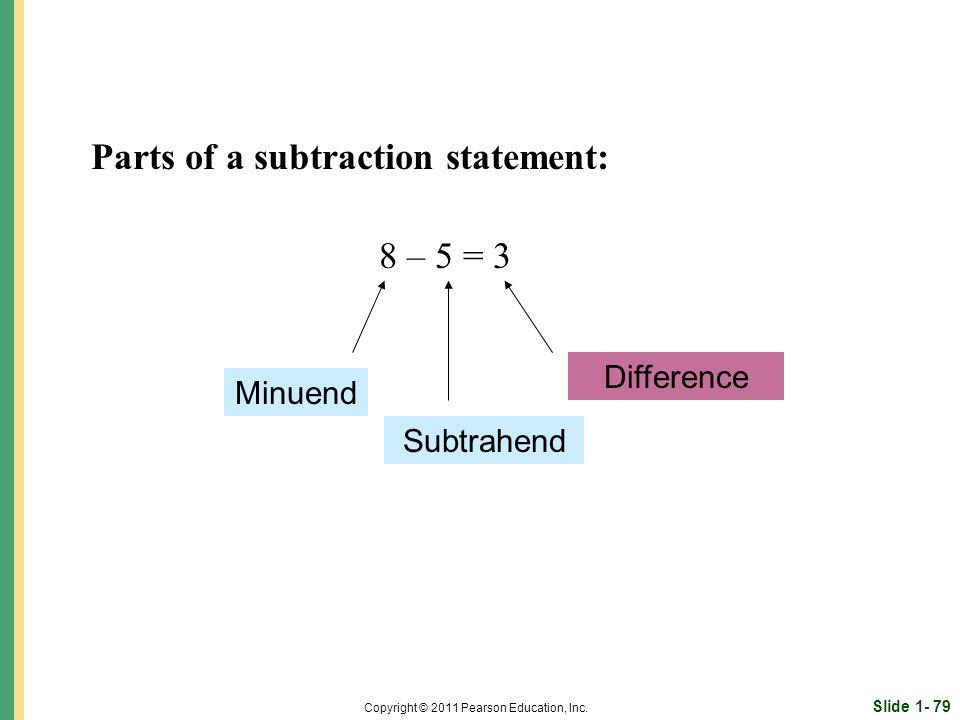 Slide 1- 79 Copyright © 2011 Pearson Education, Inc.