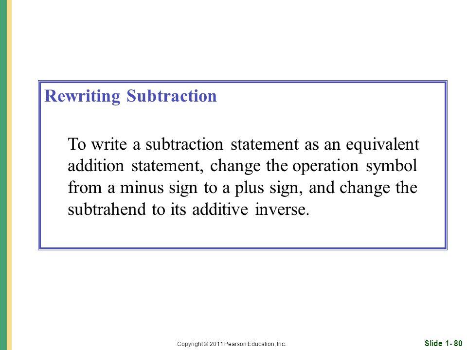 Slide 1- 80 Copyright © 2011 Pearson Education, Inc.