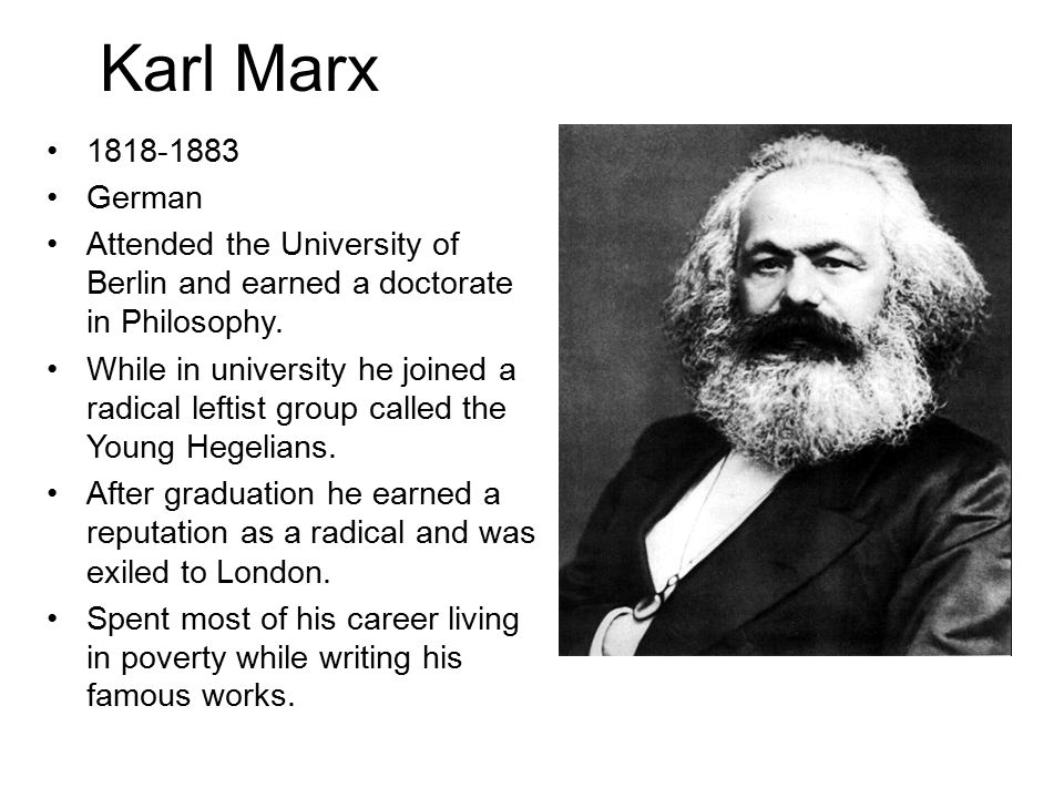 Dissertation Karl Marx Capital