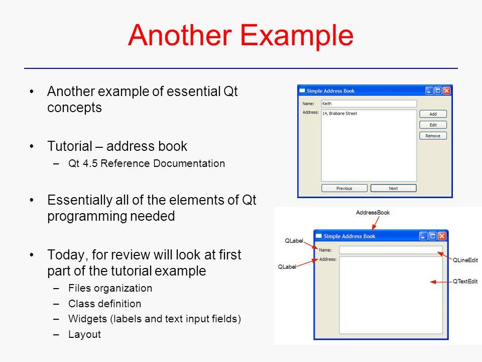 Qt  Dialog C Gui Programming With Qt  Qt  Reference