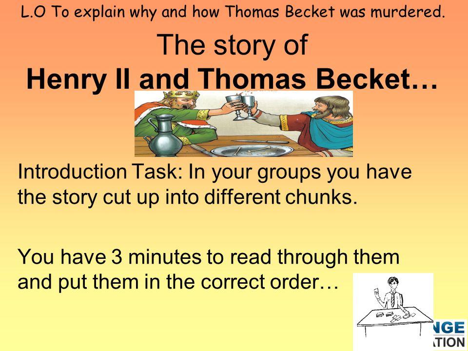 Thomas Becket Essay - hepatitze